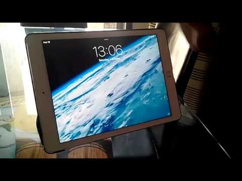 How to unlock an iPad Air without the passcode the latest version (2017)