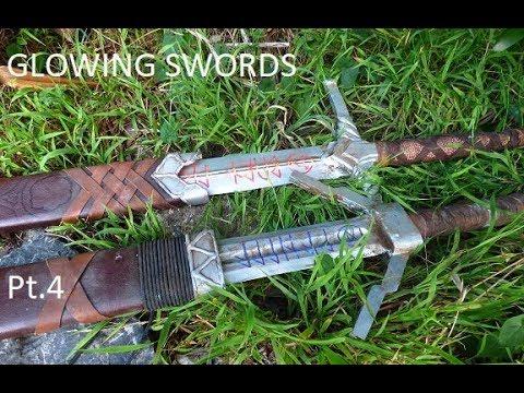 KyleofAsgard - Glowing Swords from the Witcher 3. Pt.4