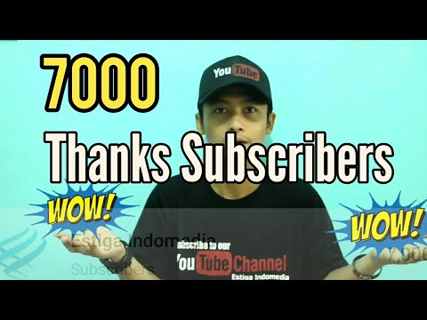 7000 | Thanks For Subscribers This Channel