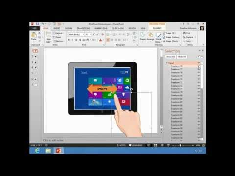 PowerPoint 2013 Selection Pane
