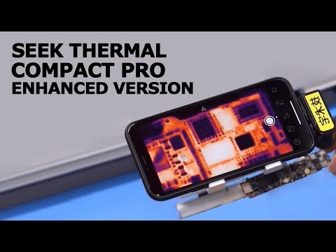Technerd Thermal Imager Camera Seek Compact Pro Enhanced Addition