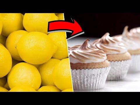 Lemon Meringue Cupcakes Review- Buzzfeed Test #95