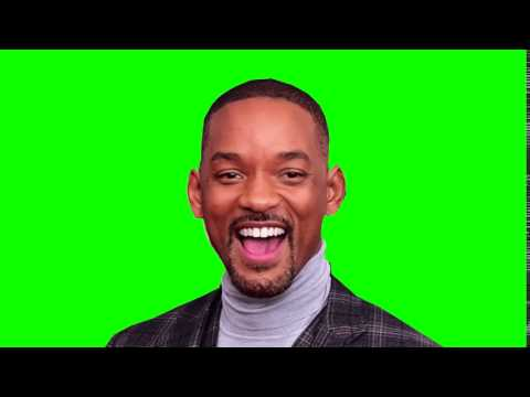 Will Smith Laughing Green Screen - 1080p 60fps