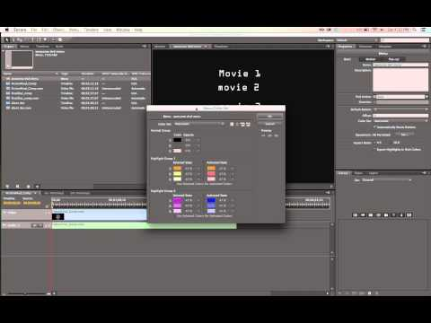 How to burn a DVD with multiple button menu using Adobe Encore and Photoshop