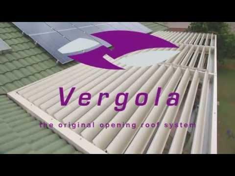 Vergola Sunshine Coast - The Original Opening Roof System