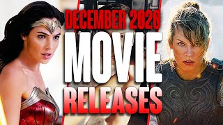 NEW MOVIE RELEASES YOU CAN'T MISS DECEMBER 2020