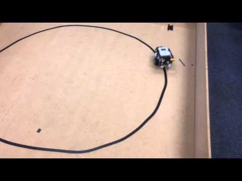 NXT robot line follower fast algorithm