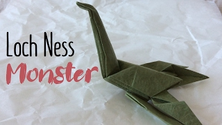 Fold an origami Space Ball Monster by Jeremy Shafer - YouTube | 180x320