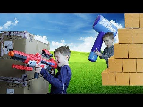 Twin vs Twin:  Fortnite Battle Royale Challenge