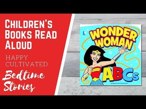 Wonder Woman ABCs Book Online | Superhero Books for Kids | Children's Books Read Aloud