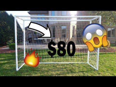 How to Create A Football / Soccer Goal For $80 Using PVC Pipes