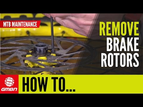 How To Remove A Disc Brake Rotor | MTB Maintenance