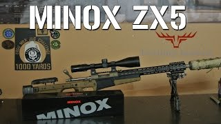 Sighting in the remington win mag with minox zx i rifle scope