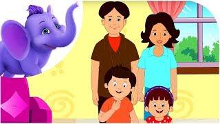 My Family - Nursery Rhyme with Karaoke
