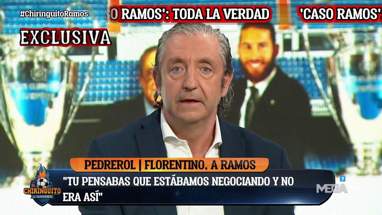 🚨🤐 La CONVERSACIÓN entre FLORENTINO y RAMOS, exclusiva de PEDREROL