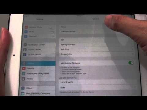 iPad Mini iOS 7: How to Find out Much Memory Space is Available