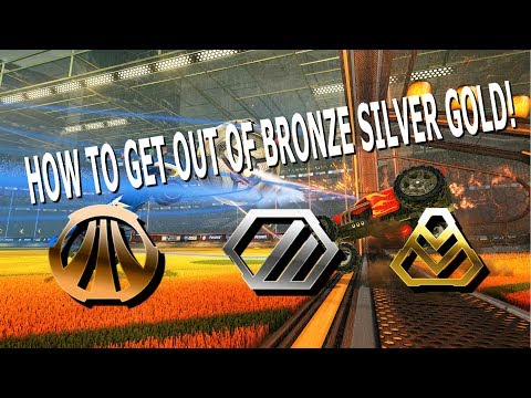 Rocket league- TIPS AND TRICKS 5+ (HOW TO GET OUT OF BRONZE, SILVER, GOLD!!)