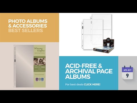 Acid-Free & Archival Page Albums Photo Albums & Accessories Best Sellers