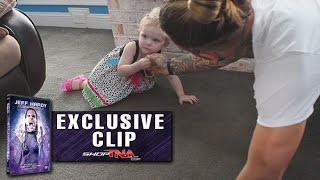 "Jeff Hardy Talks About His Daughter - Jeff Hardy ""Humanomoly""  Exclusive DVD Clip"