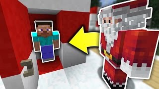 HIDING FROM SANTA! |  HIDE N