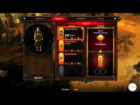 Diablo 3 - Jeweler, Covetous Shen Tutorial