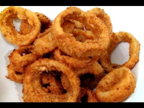 How to make crispy ONION RINGS