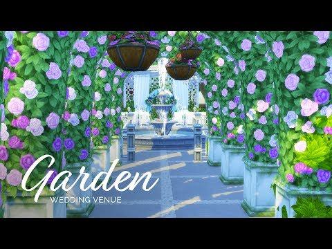 Sims 4  |  Speedbuild  |  Wedding Venue Series - Botanical Garden