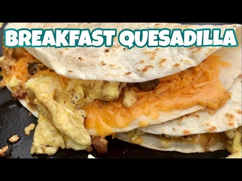 ♨️ How To Make Breakfast Quesadilla On A Blackstone Griddle