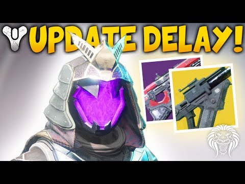 Destiny 2: CONTENT DELAY & RUMBLE UPDATE! Loot Variants, Buffed Exotics & New Patch