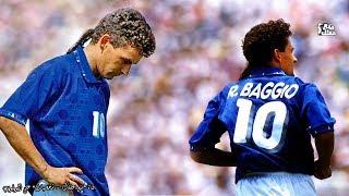 #x202b;روبرتو باجو | أفضل لاعب في تاريخ إيطاليا - ذيل الحصان المقدس وأشهر ركلة جزاء ضائعة في التاريخ#x202c;lrm;