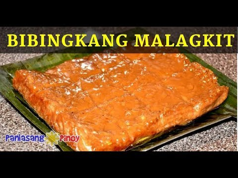 Bibingkang Malagkit (Glutinous Rice in Coconut Milk with Brown Sugar)