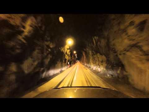 Whittier Tunnel - gorgeous drive to Whittier Alaska