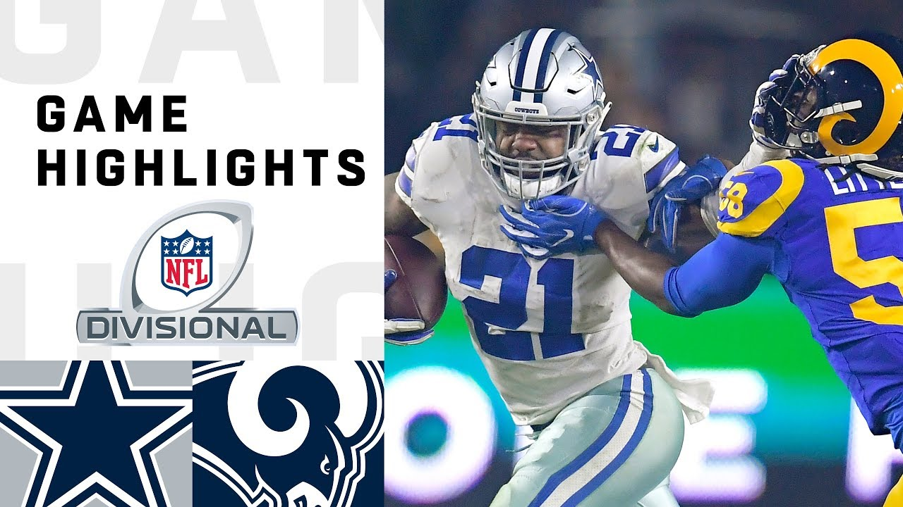 Cowboys vs. Rams Divisional Round Highlights   NFL 2018 Playoffs