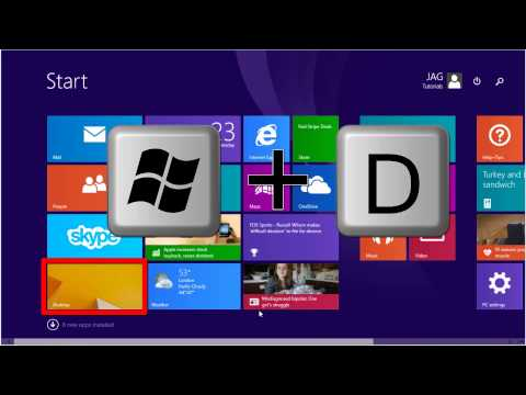 Windows 8.1 - Boot To Desktop [Tutorial]