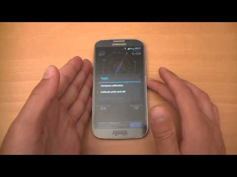 How to calibrate compass on Android