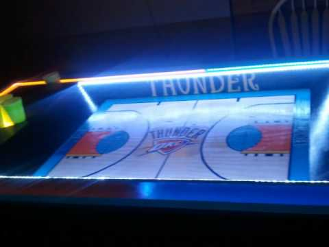 OKC Thunder Beer Pong Table