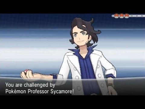 Pokemon Y Walkthrough Episode 8 - Lumiose City & Battle with Professor Sycamore!