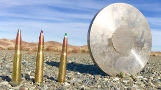 50CAL vs Stainless Steel - heavy sniper rifle