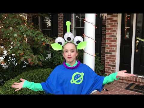 DIY: Toy Story Alien Costume #ToyStoryLand #DisneySMMC