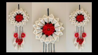 DIY: Wall / Door Hanging Decor made of Old Books