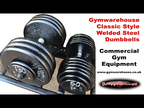 Making your own Classic Style Welded Steel Plate Gym Dumbbells