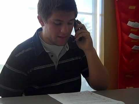 Calling a Prospective Internship Site w/ Daniel & Jarrett