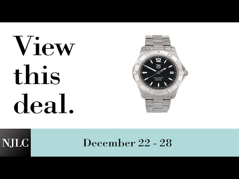 Deal of the Week: Men's Tag Heuer® Watch