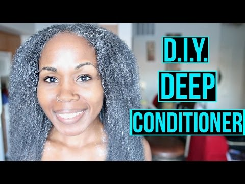How To | DIY DEEP CONDITIONER for Natural Hair Growth, Length Retention & Moisture