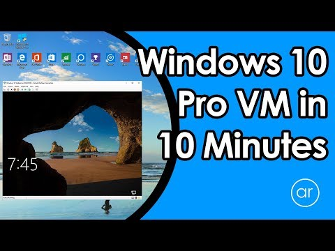 How to Install a VM using Windows 10 Pro Hyper-V in 10 Minutes