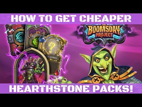 How to Get Cheaper Packs in Hearthstone!