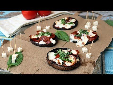 Keto Recipe - Portobello Personal Pizzas