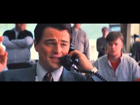 Wolf of Wall Street first sale