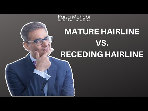Mature Hairline vs Receding Hairline: How is it Distinguished?