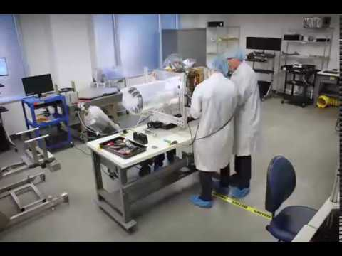 Timelapse: Watch BlackSky build its Global-1 satellite